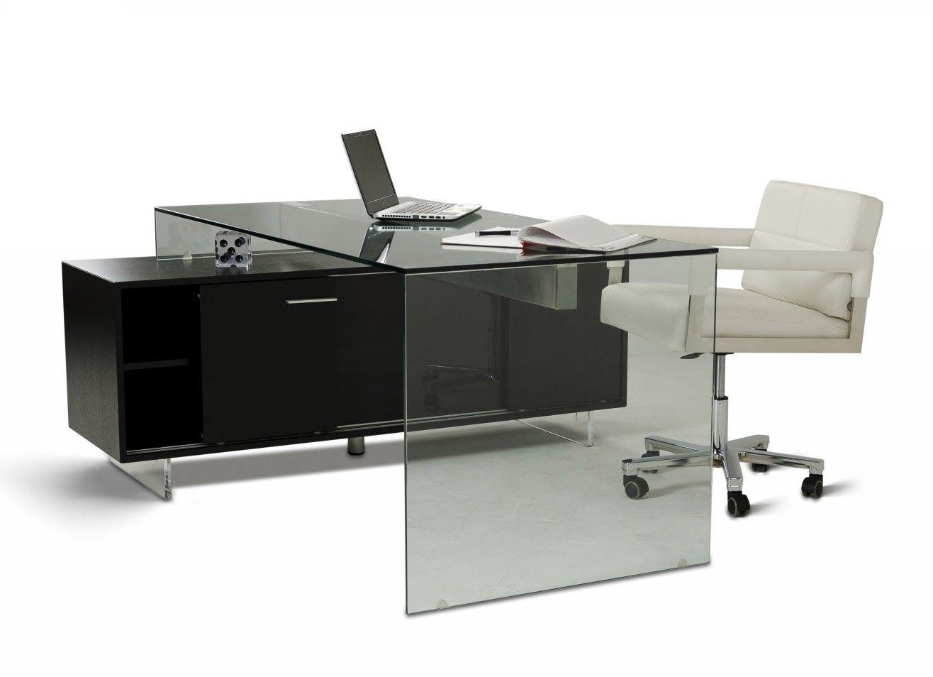 Alaska Black Oak Office Desk Desks