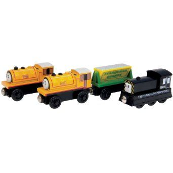 Thomas And Friends Wooden Railway Quarry Gift Pack Mavis Bill