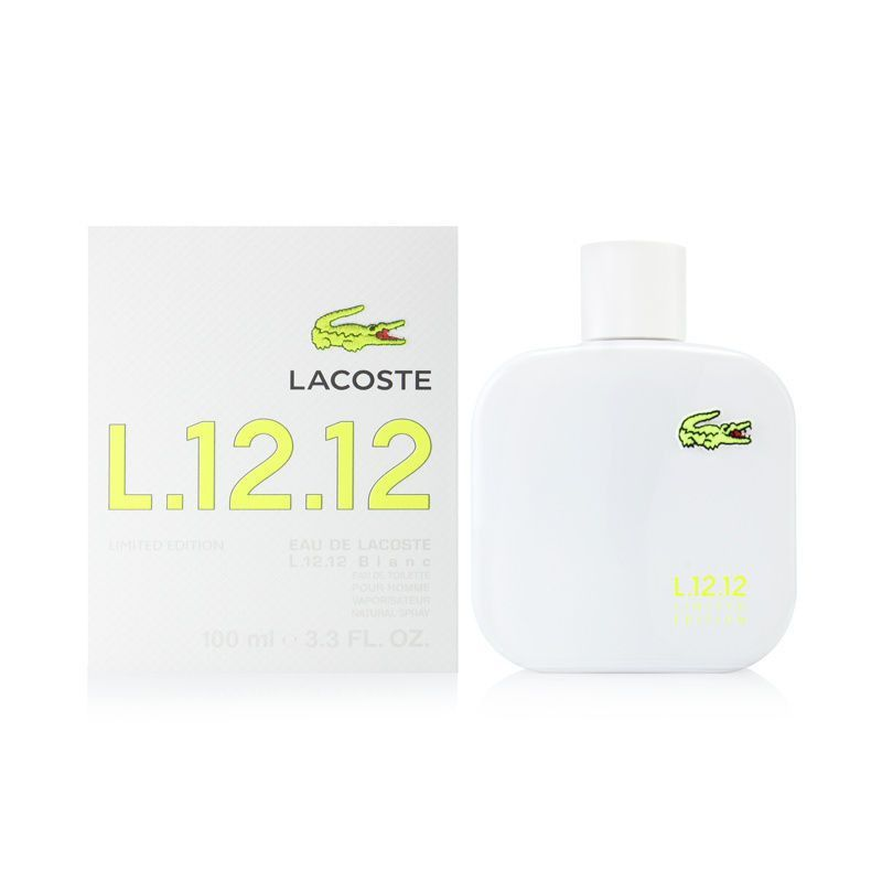 Lacoste L.12.12 Blanc Limited Edition by Lacoste for men