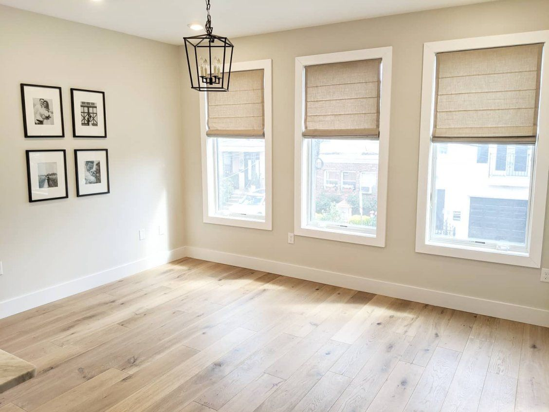Premier Roman Shades Blinds Com In 2021 Dining Room Window Treatments Premier Roman Shades Beige Living Rooms