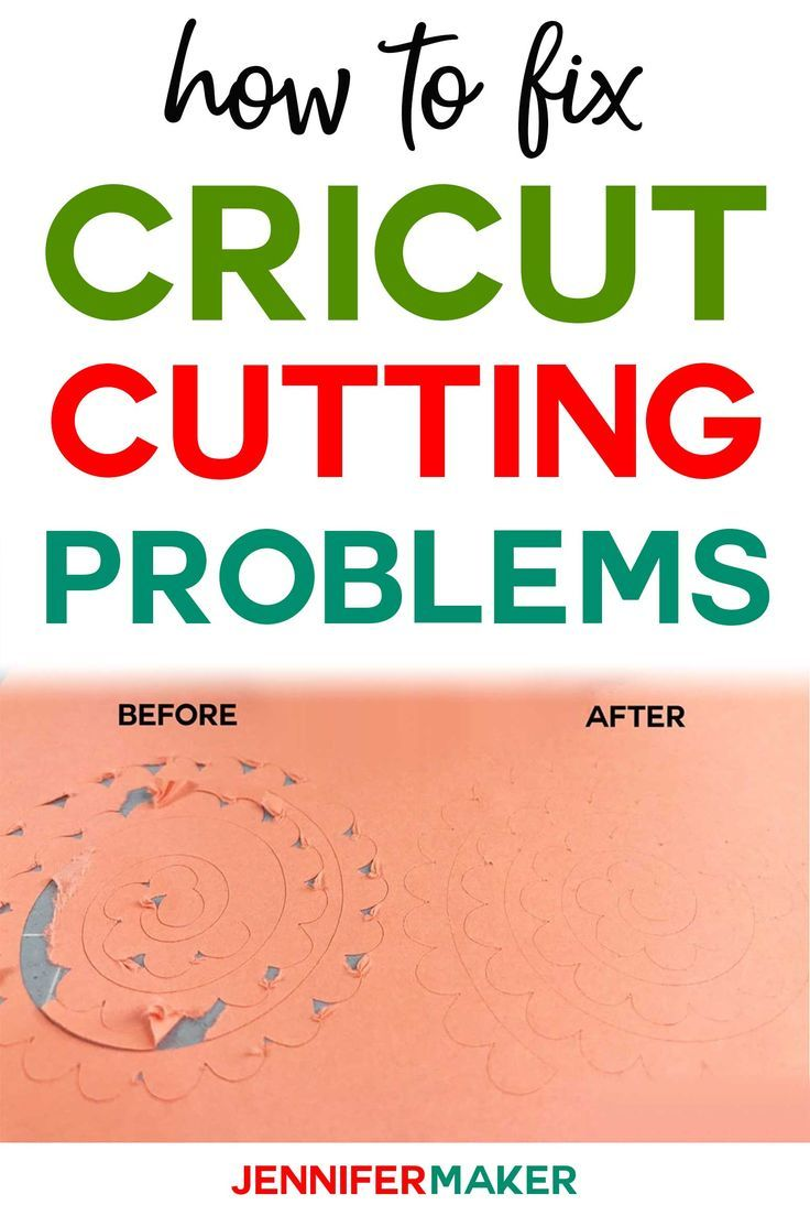 Cricut Cutting Problems: Tips for Cleaner Cuts #cricutcrafts