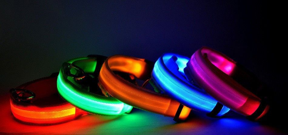 Now available on our store: LED Collar Check it out here! http://www.luxpuppyboutique.com/products/led-collar
