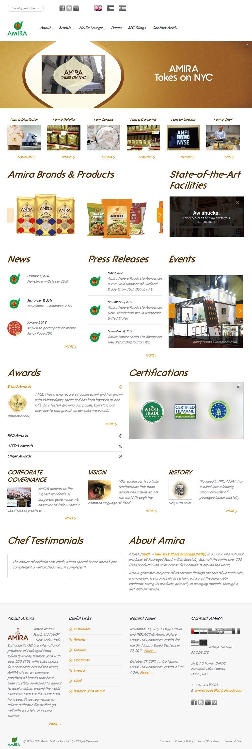 Amira C Foods International Dmcc Trading Company 4, Sikka 20a G