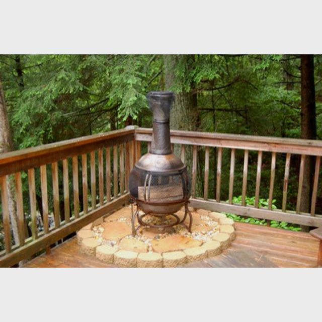 Great Idea To Put Under Your Chiminea So It Doesn T Burn