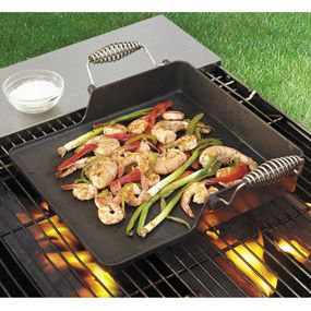 Home & Garden Plancha De Parrilla Reversible De Hierro Fundido Ideal Para Barbacoa Vegetales Kitchen, Dining & Bar