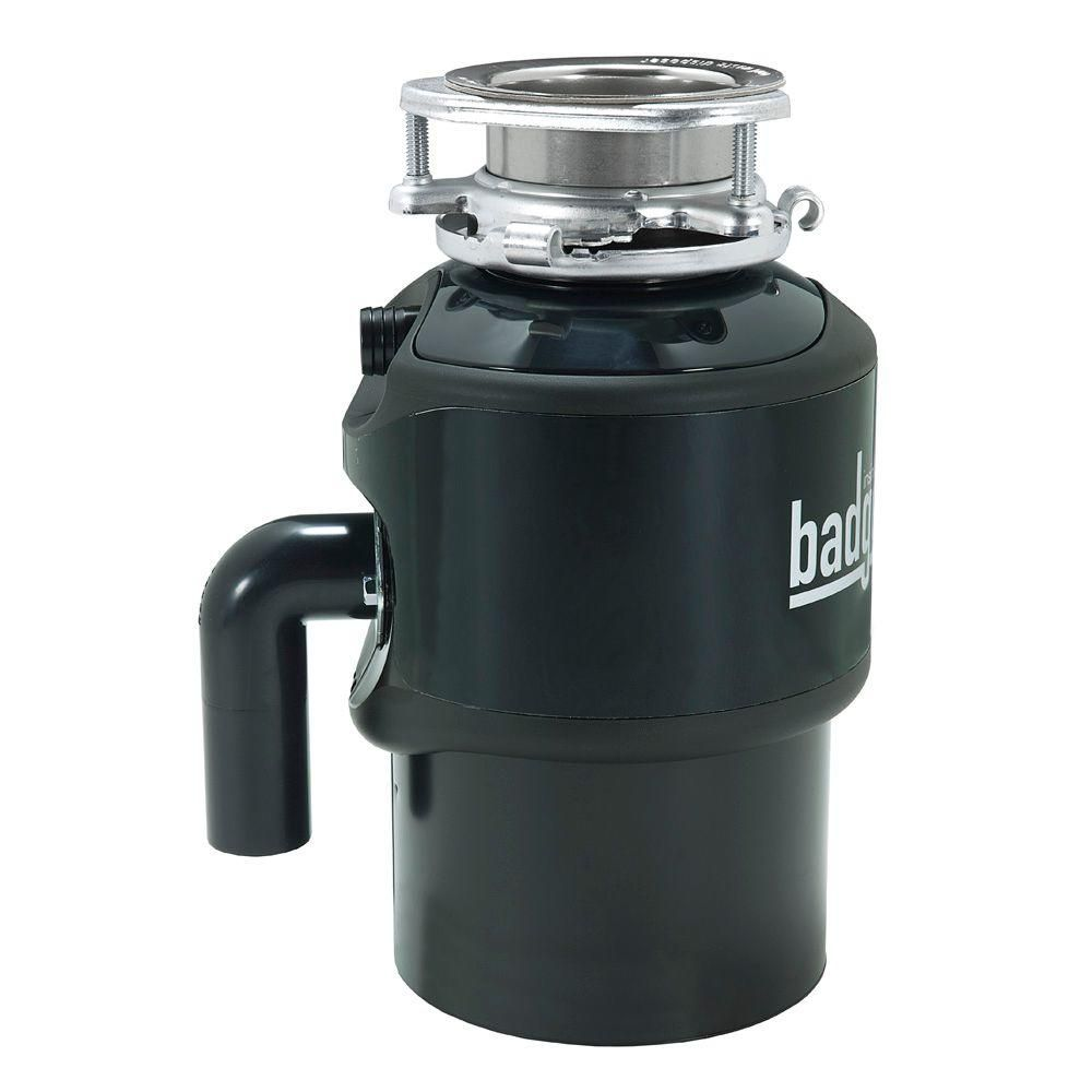 InSinkErator Badger 900 3/4 HP Continuous Feed Garbage Disposal ...