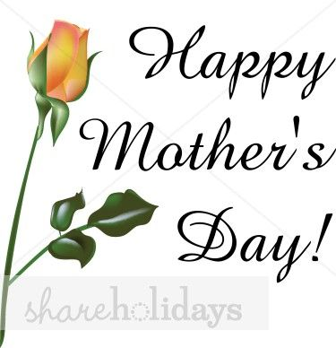 happy mother s day clip art black and white pastel bouquet rh pinterest com free mother's day clip art downloads free mother's day clip art pictures