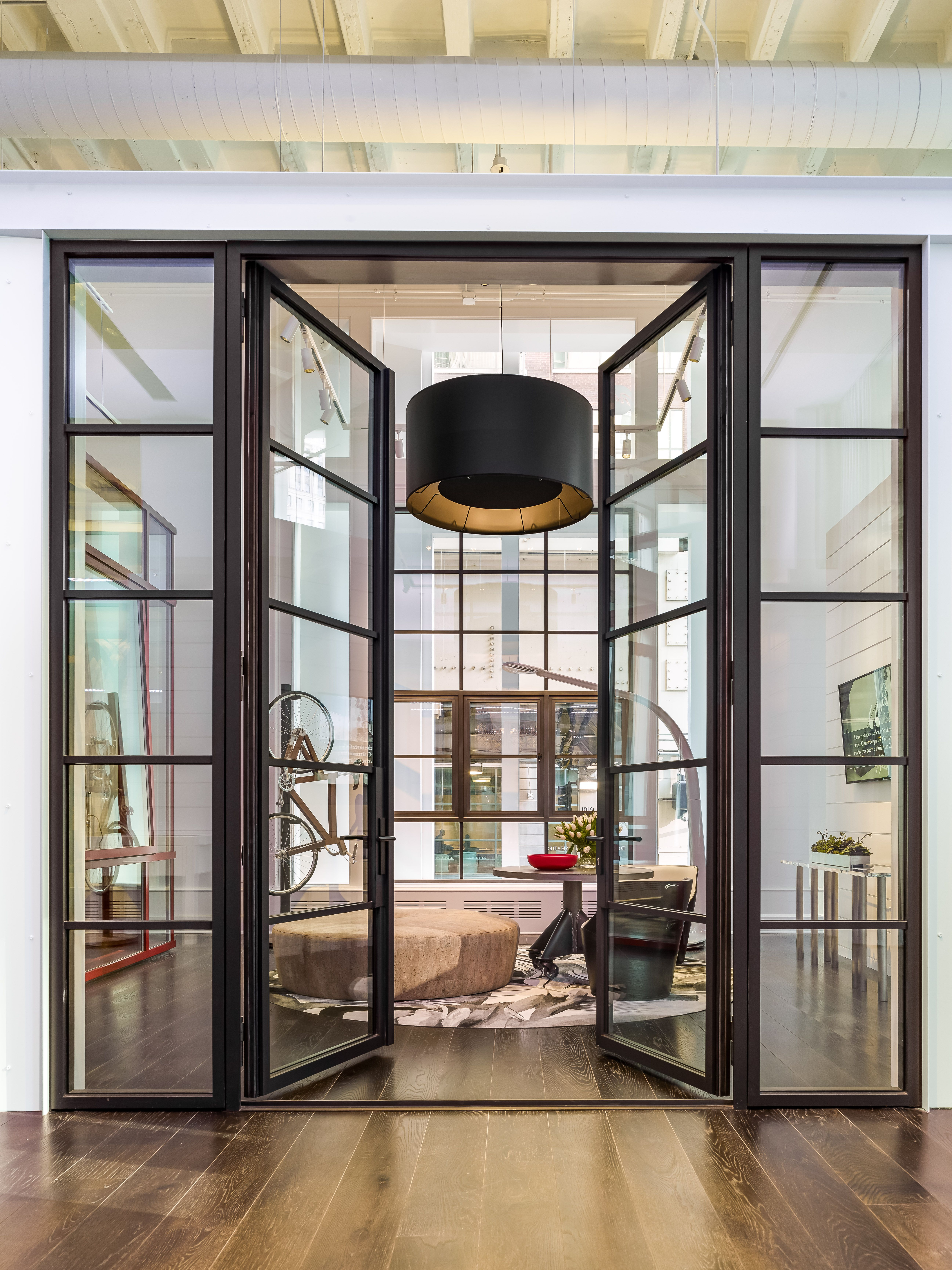 The Pella Crafted Luxury Showroom Artfully Displays Windows And Doors Within Six Style Vignettes Including Urban Loft Steel With