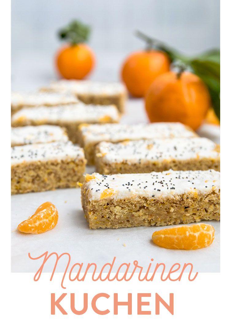 Glutenfrei & Veganer Mandarinen Kuchen