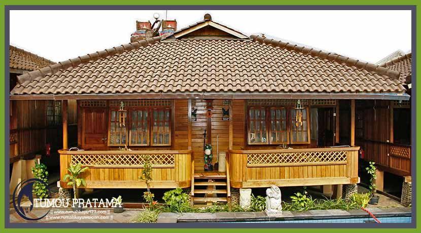 Cottage Tumou Pratama Rumahkayuwoloan Com Rumah Kayu Rumah Bangunan