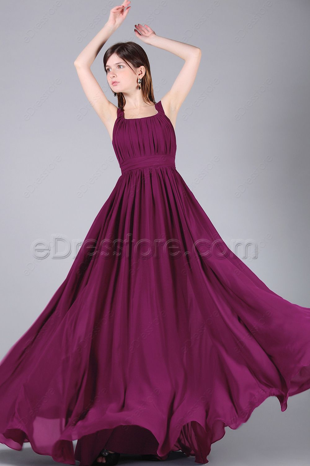 Magenta long bridesmaid dresses with wide straps magenta magenta long bridesmaid dresses with wide straps dark purple bridesmaid dressesjunior ombrellifo Images