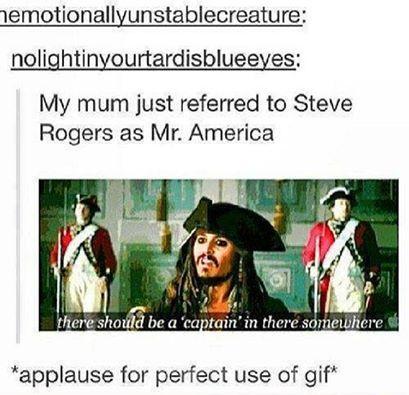 Steve Rogers = Mr. America