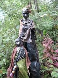 Great Statues For The African American Gardener Yard Sculptures Garden