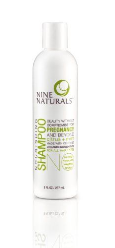 Nine Naturals Citrus Mint Nourishing Shampoo  Citrus Mint  8 oz *** Check this awesome product by going to the link at the image.