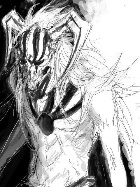 Kurosaki Ichigo, this is a really cool drawing | Bleach ブリーチ ...