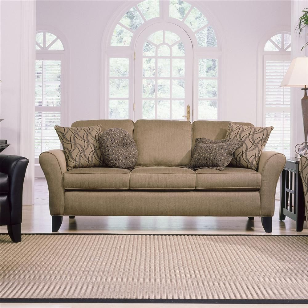 344 Upholstered Stationary Sofa By Smith Brothers At Johnny Janosik. Living  Room ...