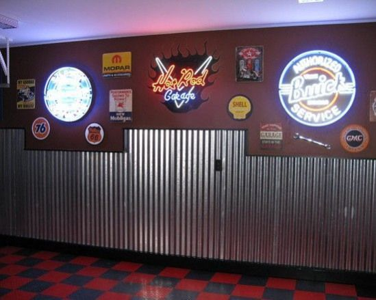 Garage Man Cave Ideas On A Budget Game Rooms