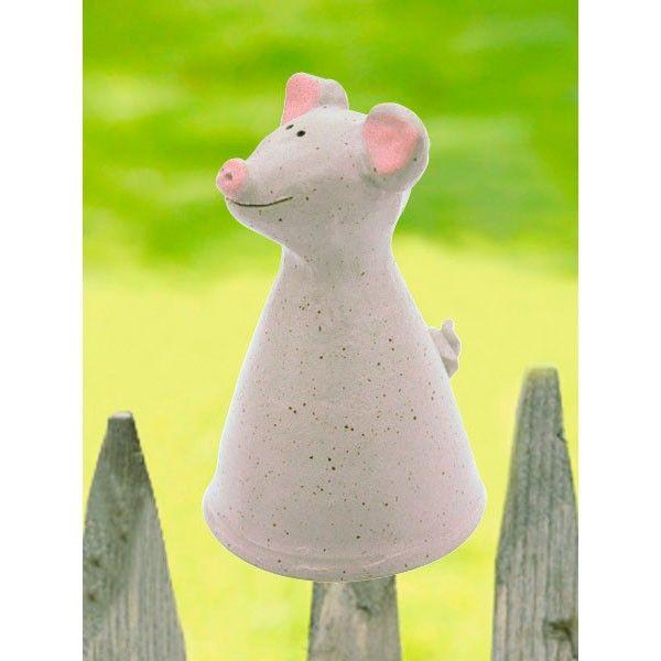 Pfostenhocker Ferkel Keramik Tiere Kunsthandwerk Hocker
