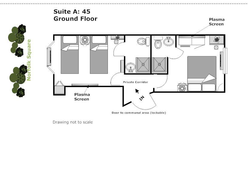 Hostel Room Plan Google Search Hostel Room Room Planning Hostel