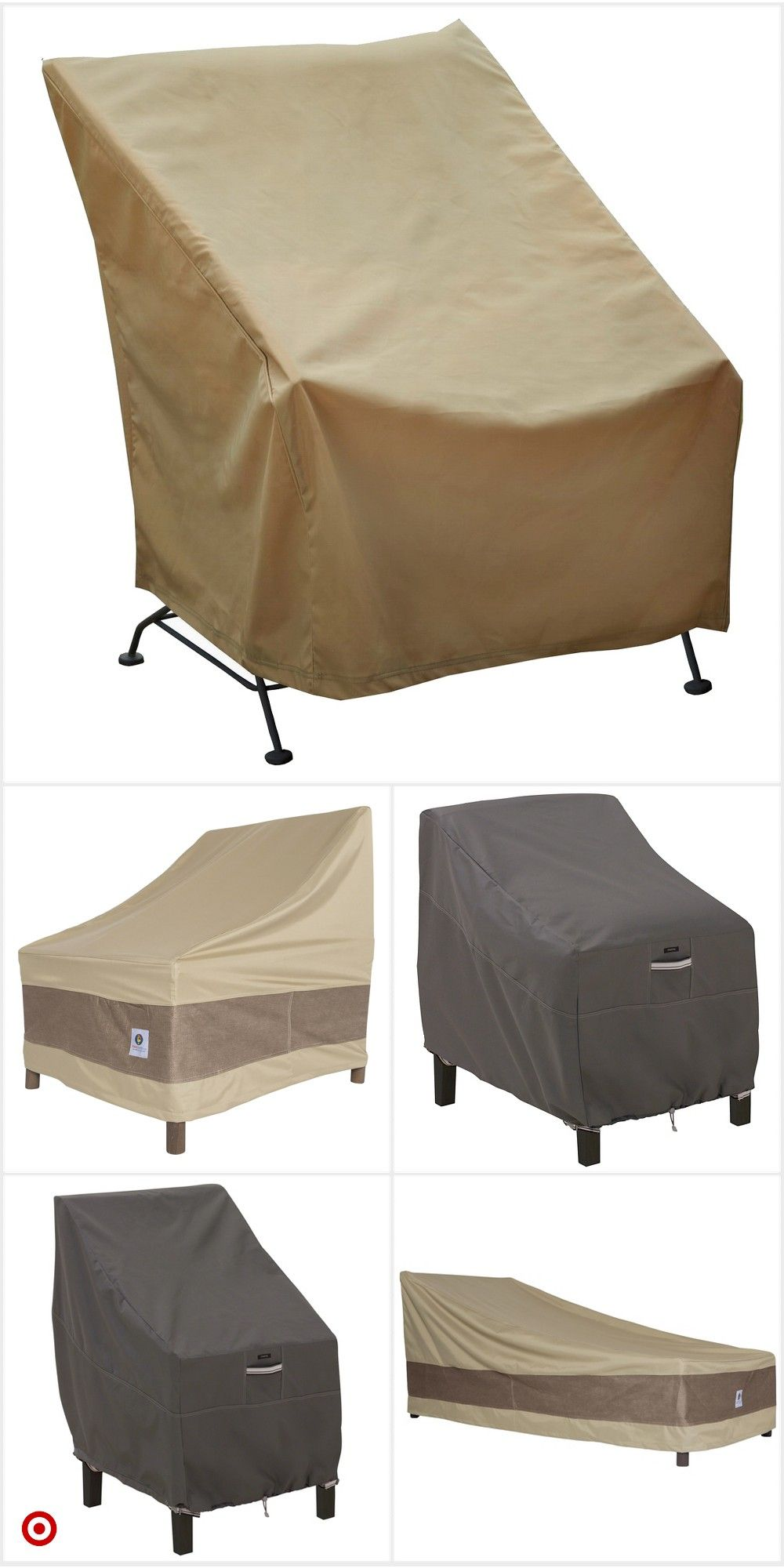 Shop Target For Patio Table And Chair Cover You Will Love At Great Low Prices Free Shipping On Orders Of 3 Patio Chair Covers Covered Patio Patio Swing Cover