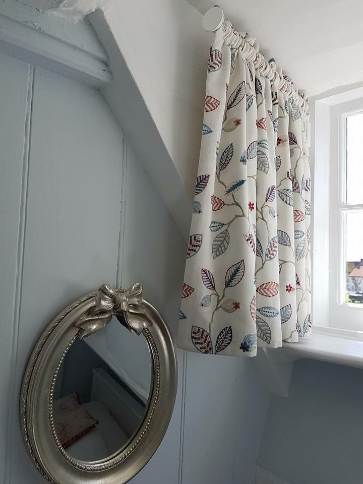 Curtain On Former Rod By Soft Interiors By Josephine Curtain Styles Cottage Curtains Curtains