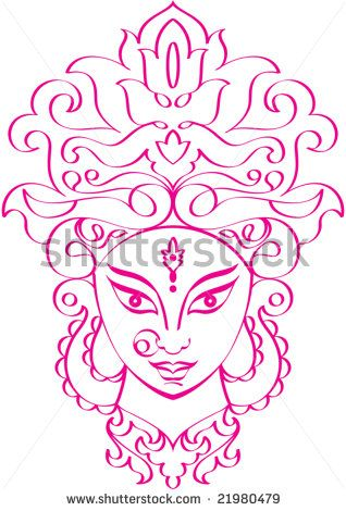 Durga Tattoo Designs Google Search Durga Painting Mandala Design Art Durga Goddess