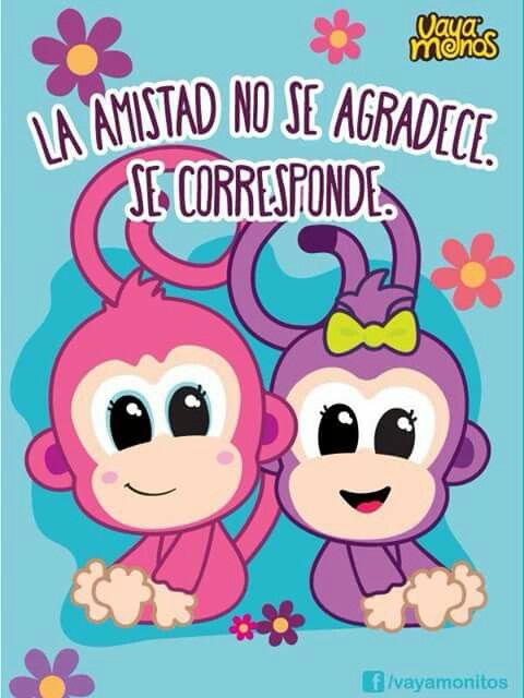 Vaya Monos Buenas Noches Amiga Frases Frases De Amistad Y