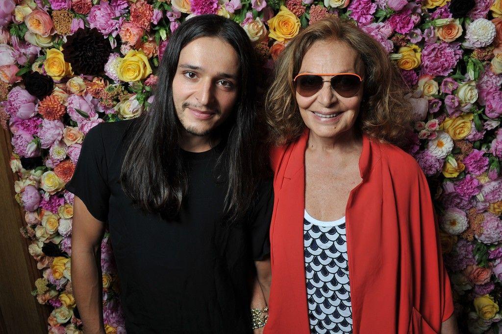 Olivier Theyskens and Diane von Furstenburg Front Row at Dior