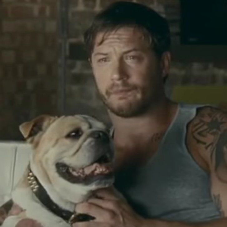 Tom Hardy Cries And Cuddles A Dog In An Old Kleenex Advert Tom