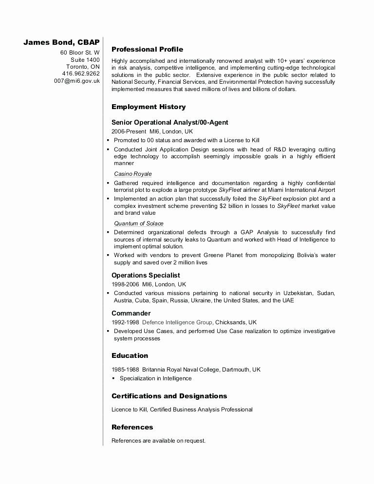 Entry Level Business Analyst Resume Beautiful 13 14 Intelligence Analyst Resumes Business Analyst Resume Business Analyst Resume