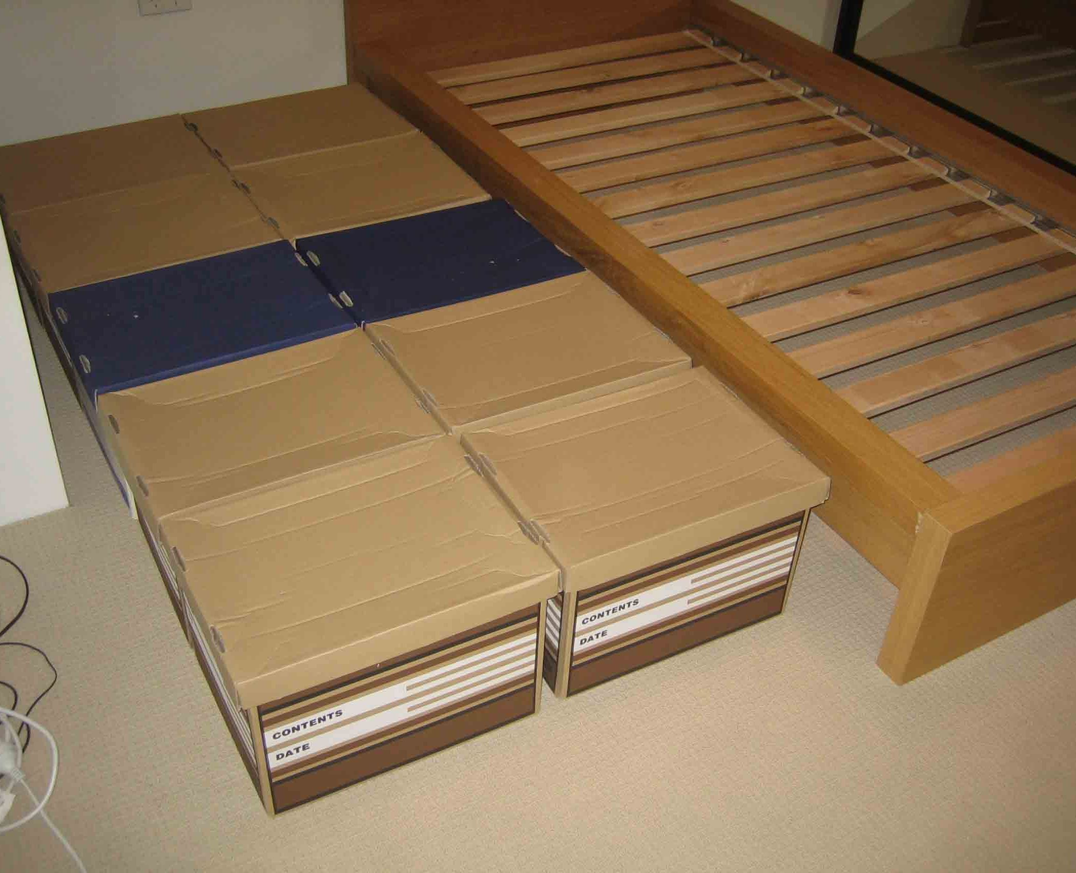Cheap Bed Substitute Diy bed frame, Diy twin bed frame