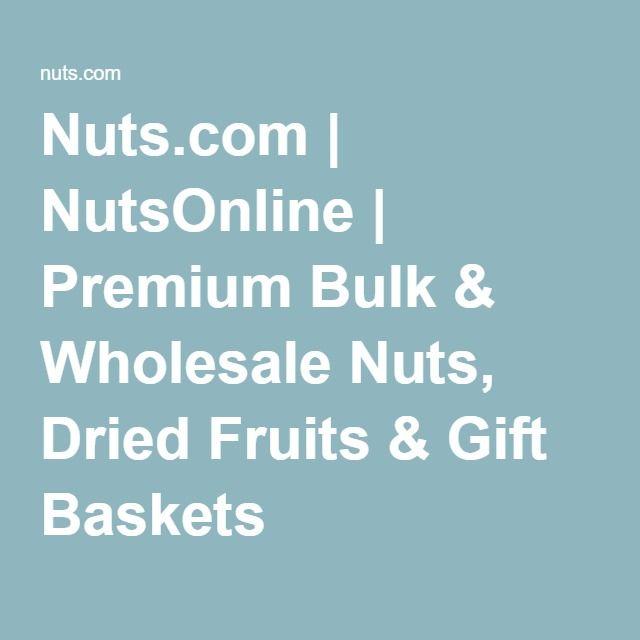 Nuts com | NutsOnline | Premium Bulk & Wholesale Nuts, Dried