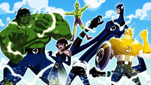 Art Concept Para Vingadores Os Herois Mais Poderosos Da Terra A Melhor Serie Animada Ja Feita Pela Marvel Com Imagens Vingadores Marvel Herois