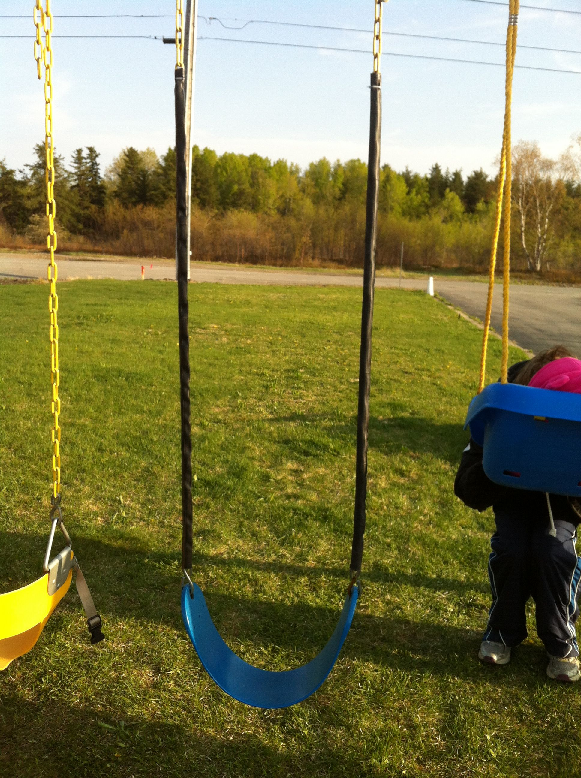 Cheap and simple fix for rusty chains on a swing set I purchased a
