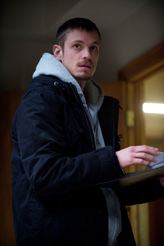 "Joel Kinnaman in The Killing.  Detective Holder ( I call him ""smolder""...); this picture doesn't do him justice at all."