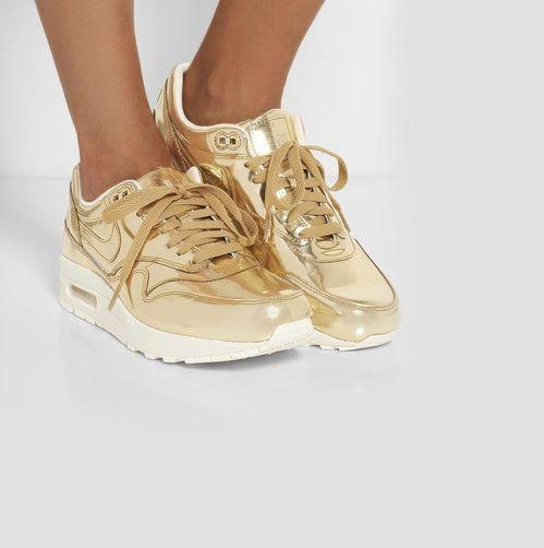 zapatillas nike doradas niña