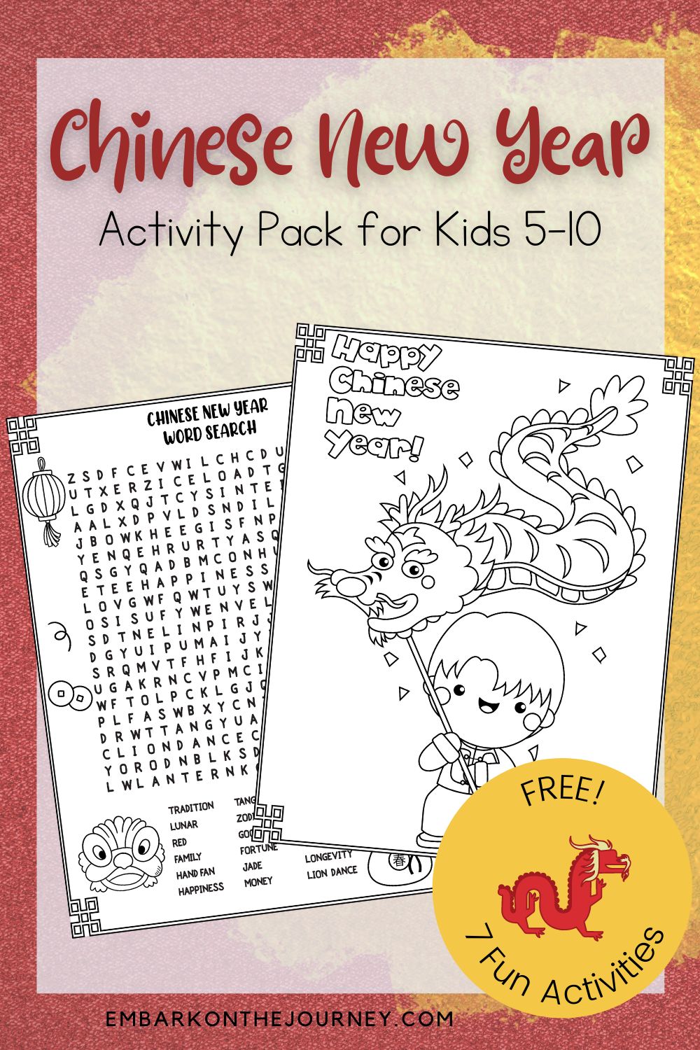 Printable Chinese New Year Worksheets For Kids In 2021 Chinese New Year Activities New Years Activities Chinese New Year [ 1500 x 1000 Pixel ]