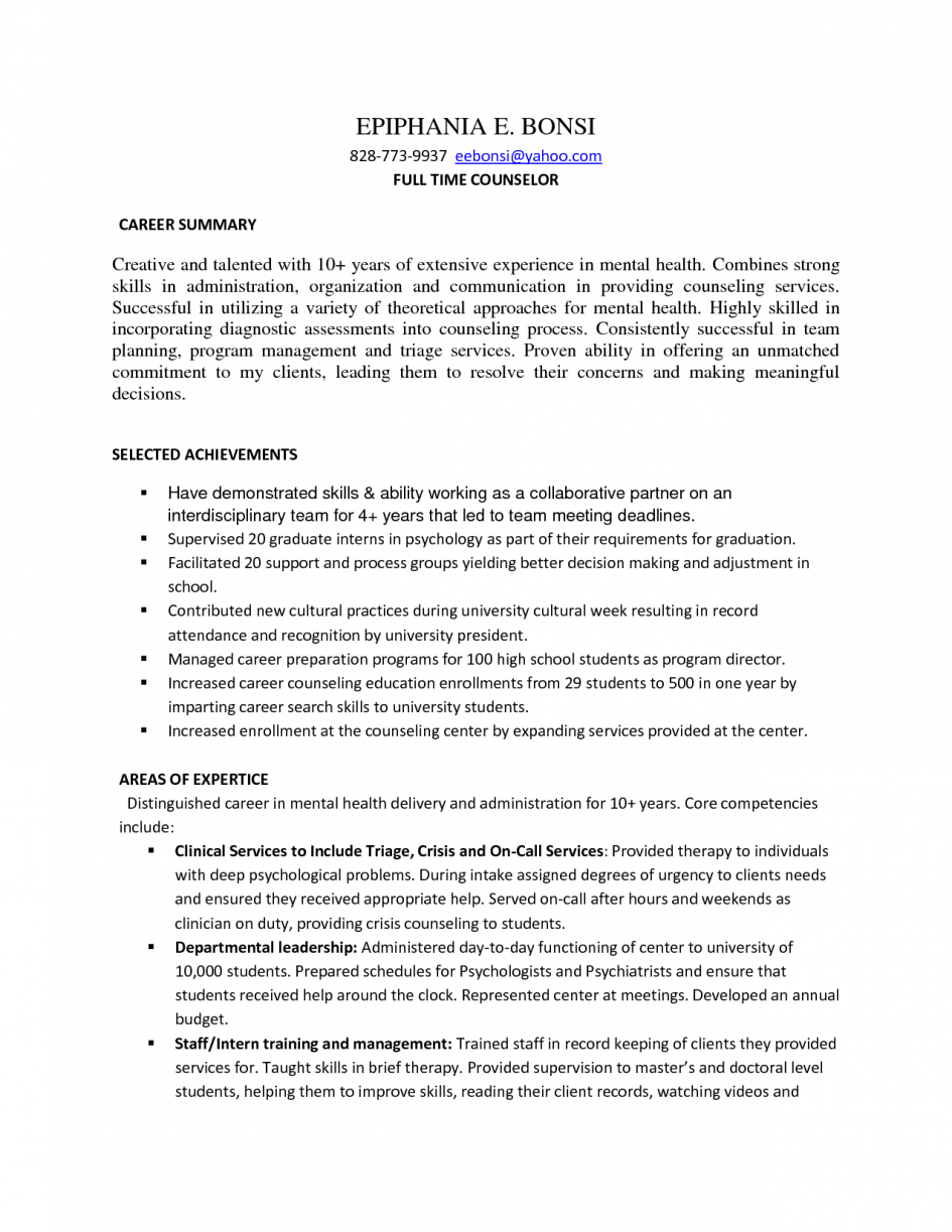 Psychology Graduate Student Resume Career Organization