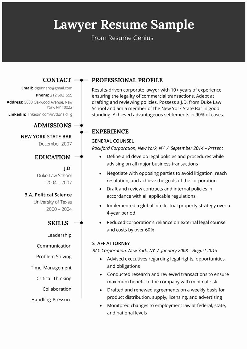 23 Legal assistant Resume Examples in 2020 (With images