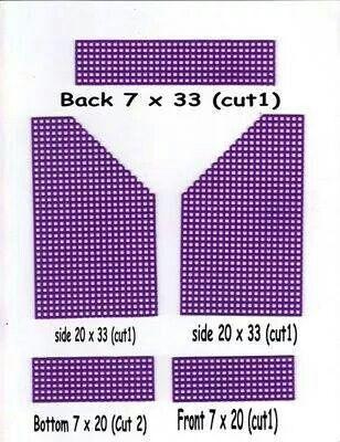Index Card Holder 6 6 Plastic Canvas Stitches Plastic Canvas Crafts Plastic Canvas Patterns
