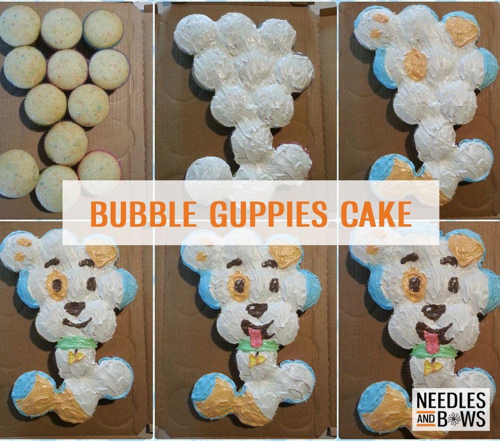 bubble guppies puppy cake needles u0026 bows crafts juju u0027s 2nd