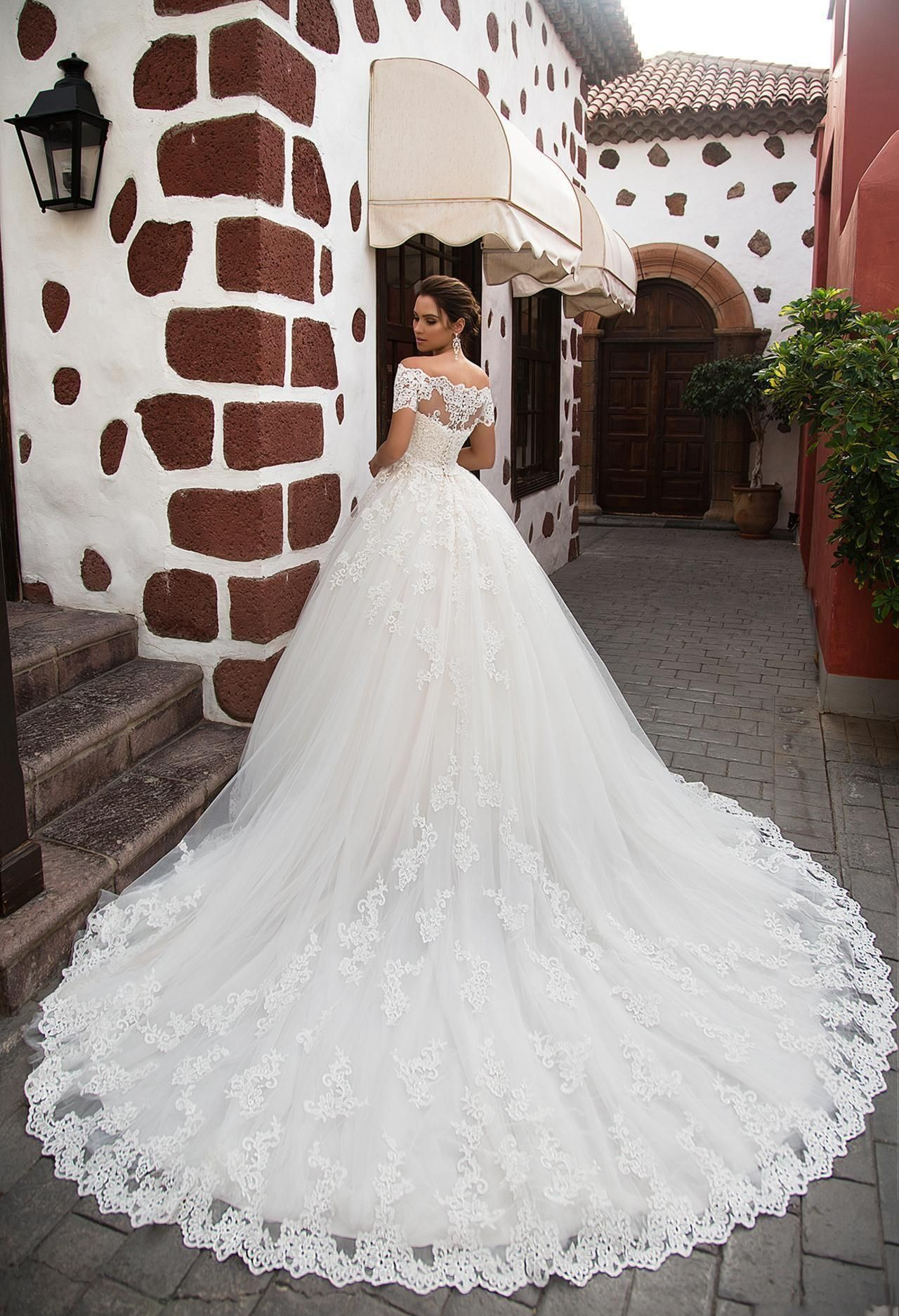 African Plus Size White Ball Gown Wedding Dresses With Sleeves Boat Neck Beaded Crystals Wedding Bridal Gowns Ba7216 From Bestoffers 73 01 Dhgate Com Ball Gown Wedding Dress Lace Princess Wedding Dresses [ 1874 x 1280 Pixel ]