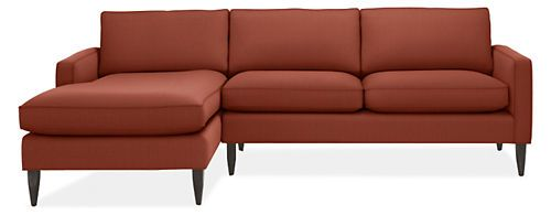 "$1,898.00 102"" Murray Sofas with Chaise - Sectionals - Living - Room & Board"