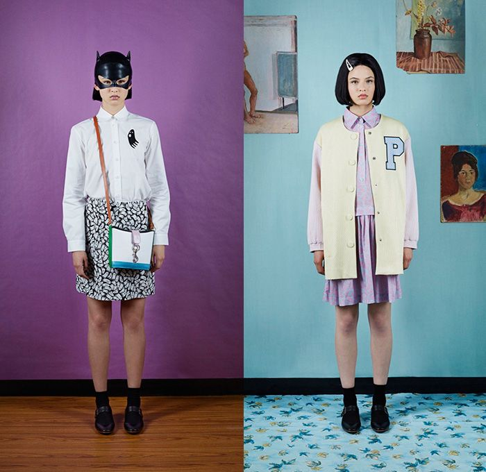 Peter Jensen 2016 Resort Cruise Pre-Spring Womens Lookbook Presentation -  Ghost World American Diner