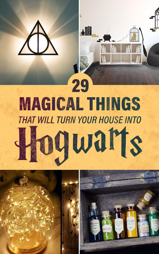 26 Products That Will Transfigure Your Home Into Hogwarts Harry