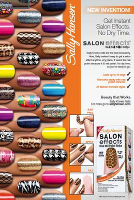 Sally Hansen Salon Effects Nail Polish Strips | Creativity, Crafts ...