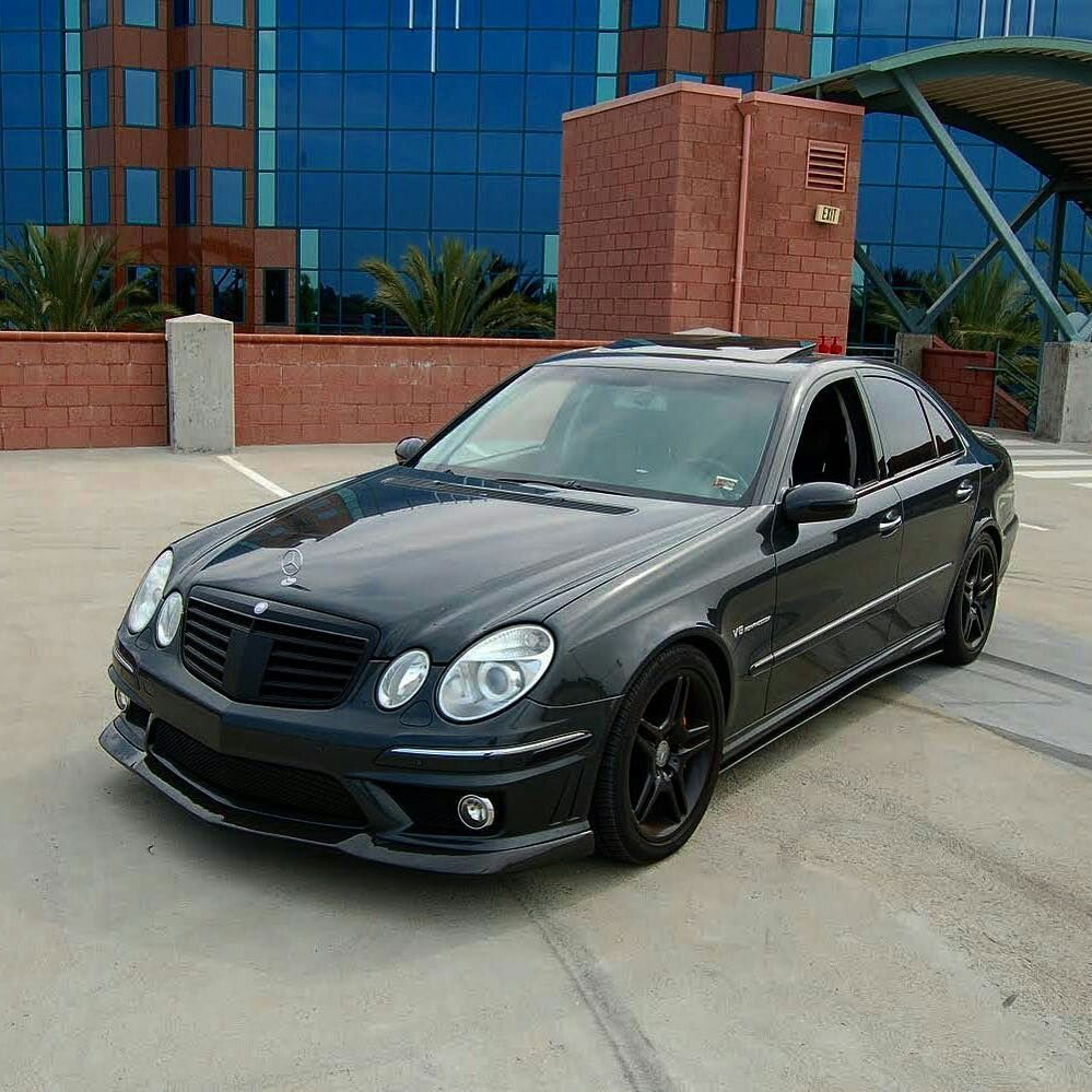 mercedes e55 amg w211 mercedes pinterest mercedes. Black Bedroom Furniture Sets. Home Design Ideas