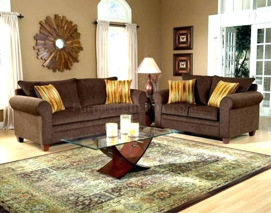 living room design ideas - Google Search   Brown couch ...
