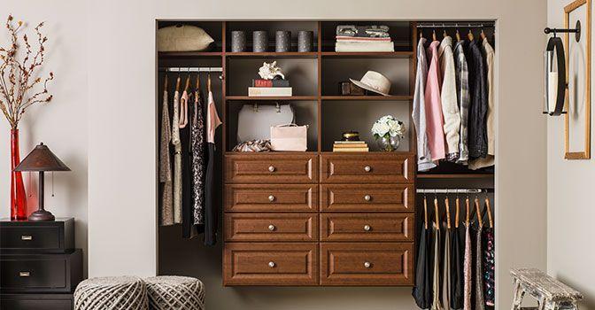 Closet Organization at Home Depot