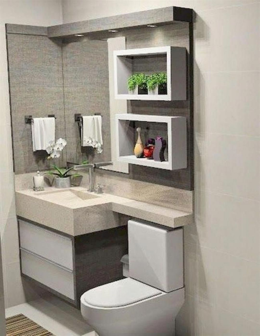 10 Awesome Small Modern Bathroom Design On A Budget - Decor It's
